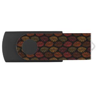 Hintergrund des Fall-Skeleton Blatt-Muster-| DIY USB Stick