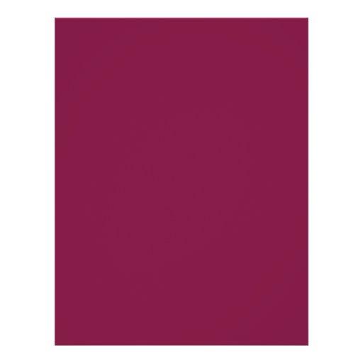Hintergrund-Farbe - Burgunder 21,6 X 27,9 Cm Flyer