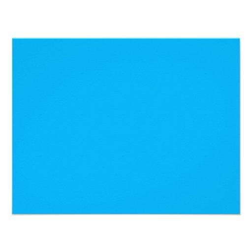 hintergrund farbe cyan blau 10 8 x 14 cm einladungskarte zazzle. Black Bedroom Furniture Sets. Home Design Ideas
