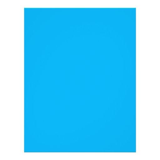 hintergrund farbe cyan blau flyer zazzle. Black Bedroom Furniture Sets. Home Design Ideas
