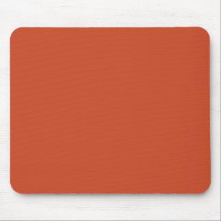 Hintergrund-Farbe - gebrannte Orange Mousepads