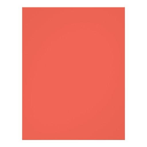 hintergrund farbe koralle personalisierte flyer zazzle. Black Bedroom Furniture Sets. Home Design Ideas