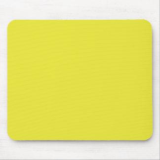 Hintergrund-Farbe - Sun-Gelb Mousepads
