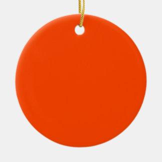 Hintergrund-Farborange Ornament
