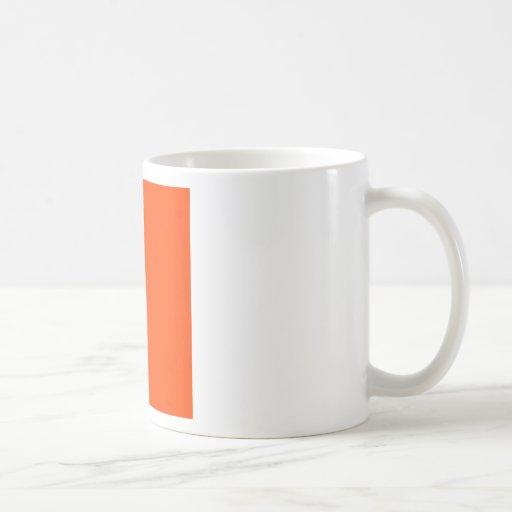Hintergrund-Farborange Kaffeehaferl