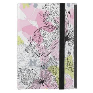 Hintergrund mit Schmetterling iPad Mini Etuis