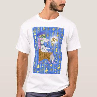 Hintergrund-Sprache und Königratte T-Shirt