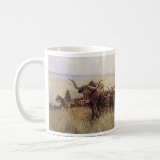 Hinterherde nach Wyoming durch WHD Koerner Kaffeetasse