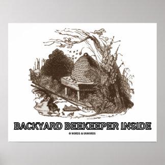 bienenstock poster bienenstock drucke kunstdrucke. Black Bedroom Furniture Sets. Home Design Ideas
