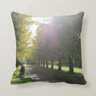Hinterkanten-Park - Herbst-Bäume Kissen