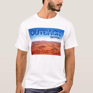 HINTERLAND-ÜBERLEBENDER, ULURU AUSTRALIEN T-Shirt