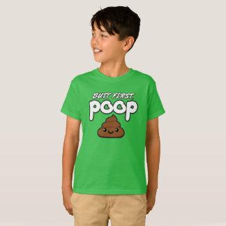 Hintern kacken zuerst KinderT - Shirt