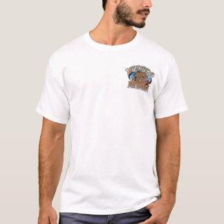 Hinterwäldler-Bohnen-grundlegendes T-Stück T-Shirt