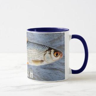 Hinterwelle-Frischwasserfische, mit Tasse