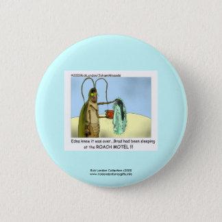 Hinterwelle-Motel-lustiger Cartoon-Neuheits-Knopf Runder Button 5,1 Cm