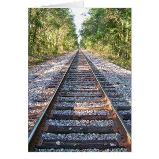 Hinunter die Bahnstrecken Karte