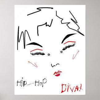 Hip-Hop-Diva Poster