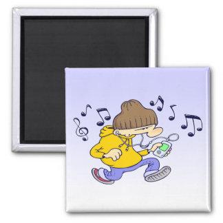 Hip-Hop-Magnet Kühlschrankmagnet