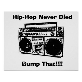 Hip-Hop starb nie Plakat