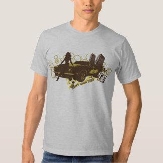 Hiphop-Auto blühen Tshirts
