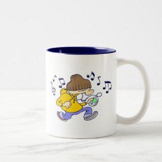 HipHop-Tasse Zweifarbige Tasse