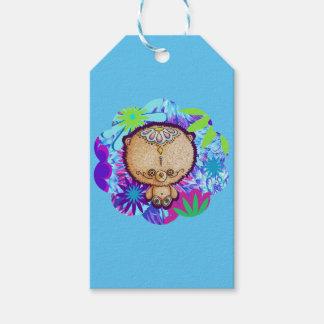 Hippie-Bär Geschenkanhänger