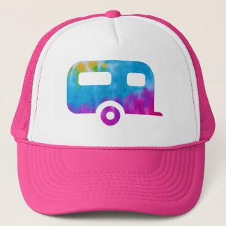 Hippie-Camper Truckerkappe