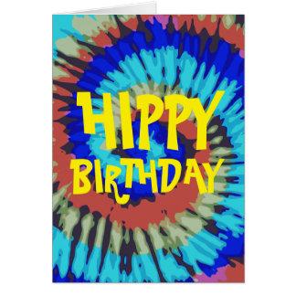 Hippie-Geburtstag Grußkarte
