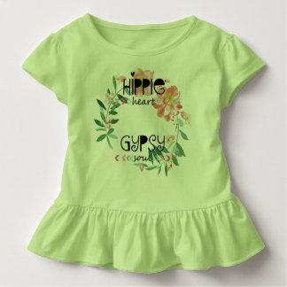 Hippie-Herz-Sinti und Roma-Soul Kleinkind T-shirt