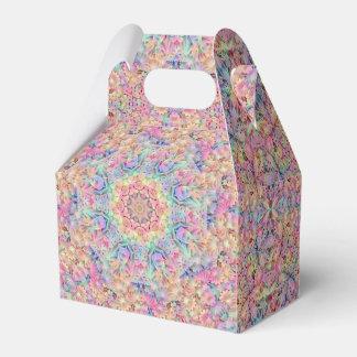 Hippie-Kaleidoskop-Giebel-Bevorzugungs-Kasten Geschenkschachtel