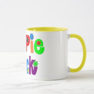 Hippie-Küken-Tasse Tasse