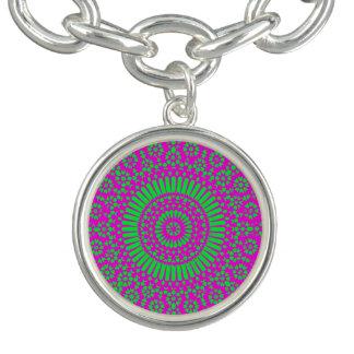 Hippie-Mandala Charm Armband