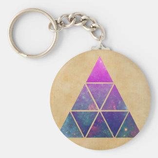 Hippie-Mond Schlüsselanhänger