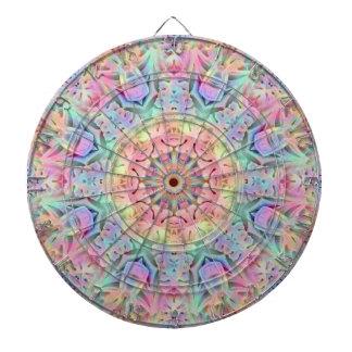 Hippie-Muster-MetallkäfigDartboard Dartscheibe