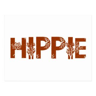 Hippie Postkarte