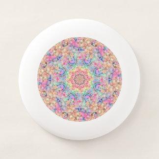 Hippie-Vintager rosa Kaleidoskop    Frisbee