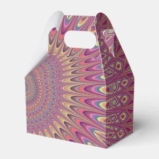 Hippiegitter-Mandala Geschenkschachtel
