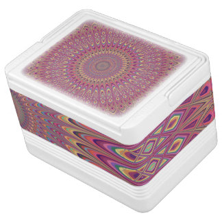 Hippiegitter-Mandala Kühlbox
