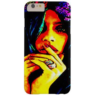 Hippiemädchen-Handyfall/-abdeckung Barely There iPhone 6 Plus Hülle