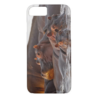 Hippopotamus, Hippopotamus amphibius, See iPhone 8/7 Hülle