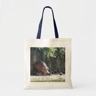 Hippopotamus-Taschen-Tasche Tragetasche
