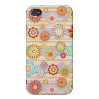 Hippy Fall des Küken-Blumen-Power-iPhone4 Etui Fürs iPhone 4