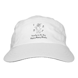 Hippy Hippy Erschütterung - lustige Headsweats Kappe