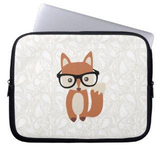 Hipster-BabyFox w Glasses Computer Schutzhülle