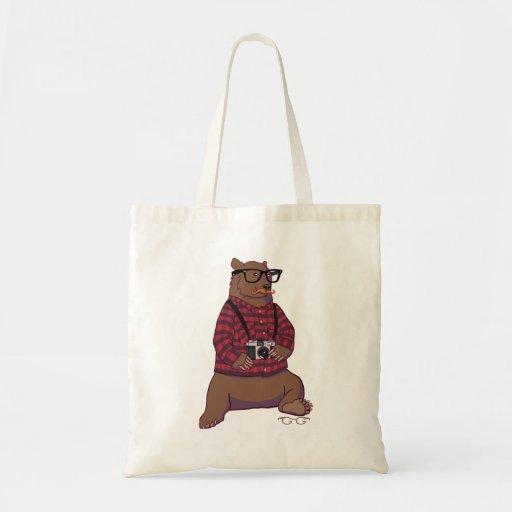 Hipster-Bärn-Tasche (ohne Text)