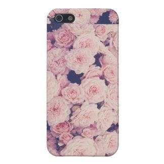 Hipster-Blumen-Telefonkasten Hülle Fürs iPhone 5