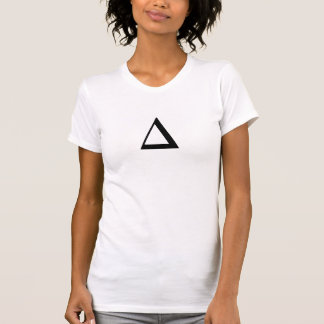 Hipster-Dreieck-Shirts fertigen die Farbe T-Shirt