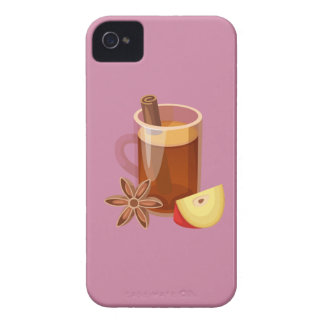 Hipster-Erntedank iPhone 4 Cover