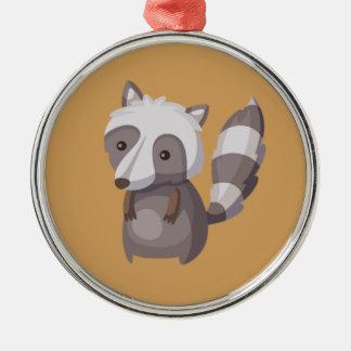 Hipster-Erntedank Silbernes Ornament
