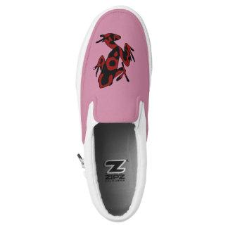 Hipster-Frosch Slip-On Sneaker